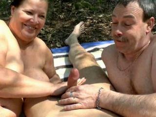 Mollig & große Titten